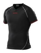 MAILLOT ACE BASELAYER MANCHES COURTES BLACK