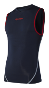 MAILLOT ACE BASELAYER SANS MANCHES BLACK