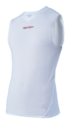 MAILLOT AIR SLEEVELESS BASELAYER WHITE