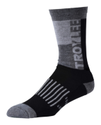 CHAUSSETTES PERFORMANCE CREW BLOCK BLACK