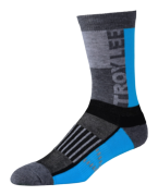 CHAUSSETTES PERFORMANCE CREW BLOCK OCEAN