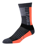 CHAUSSETTES PERFORMANCE CREW BLOCK ORANGE