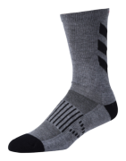 CHAUSSETTES PERFORMANCE CREW ESCAPE GRAY/BLACK