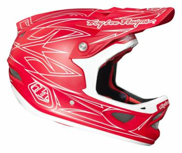 CASQUE D3 PINSTRIPE II COMPO RED