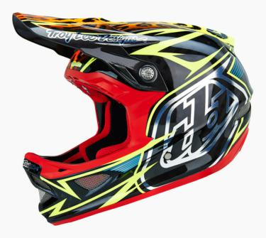 CASQUE D3 SPEEDA YELLOW CF