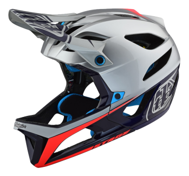 Photo de CASQUE STAGE MIPS RACE SILVER/NAVY