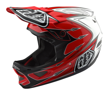 Photo de CASQUE D3 COMPOSITE CORONA RED/WHITE