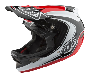 Photo de CASQUE D3 CARBON MIPS MIRAGE RED