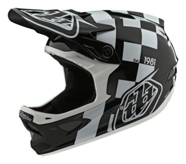 Photo de CASQUE D3 FIBERLITE RACESHOP WHITE/BLACK