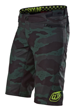 Photo de SHORT SKYLINE CAMO STEALTH/BLACK WOMENS AVEC S/SHO