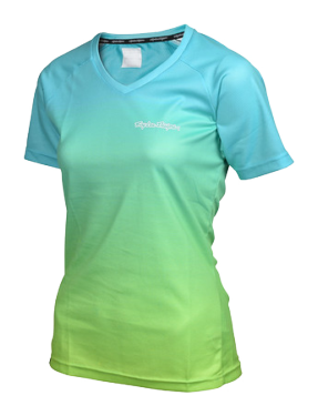 Photo de MAILLOT SKYLINE DISSOLVE TURQUOISE WOMEN