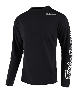 Photo de MAILLOT SPRINT SOLID BLACK YOUTH