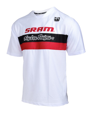 Photo de MAILLOT SKYLINE AIR SRAM TLD RACING WHITE