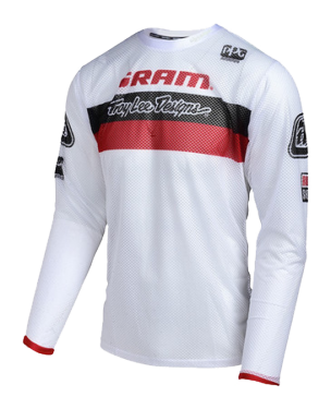Photo de MAILLOT SPRINT AIR SRAM TLD RACING WHITE YOUTH