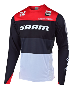 Photo de MAILLOT SPRINT ELITE SRAM BETA BLACK/RED