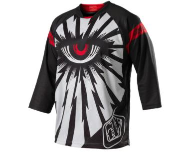 Photo de MAILLOT RUCKUS CYCLOPS WHITE/RED/BLK