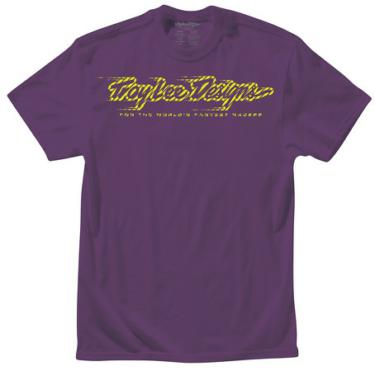 TEE SHIRT SPEEDMARK II PURPLE