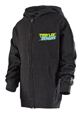 Photo de SWEAT ZIP LET LOOSE CHARCOAL HTR YOUTH
