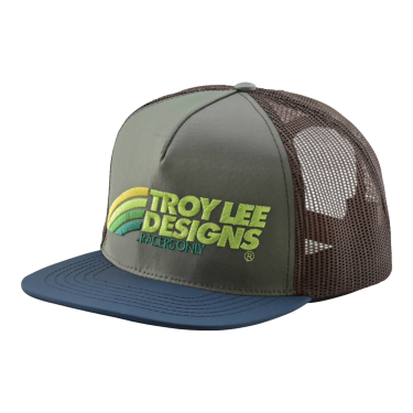 Photo de CASQUETTE VELO GREEN/BROWN