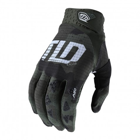 GANTS AIR CAMO GREEN/BLACK