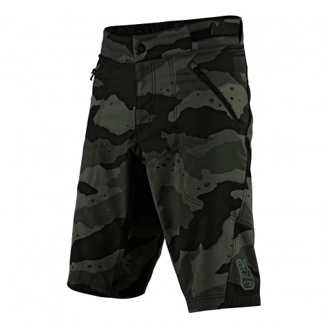 SHORT SKYLINE CAMO GREEN AVEC S/SHORT