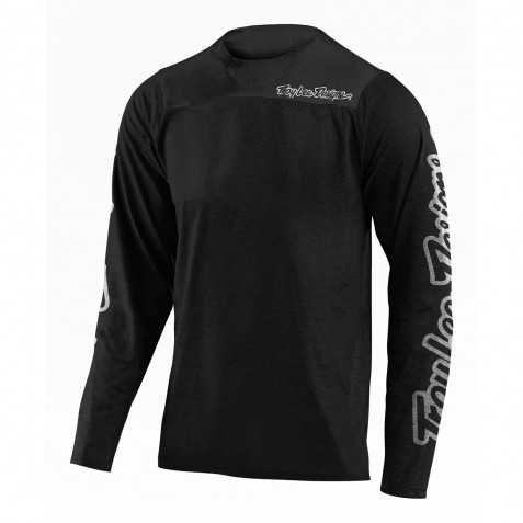 MAILLOT SKYLINE LS CHILL BLACK