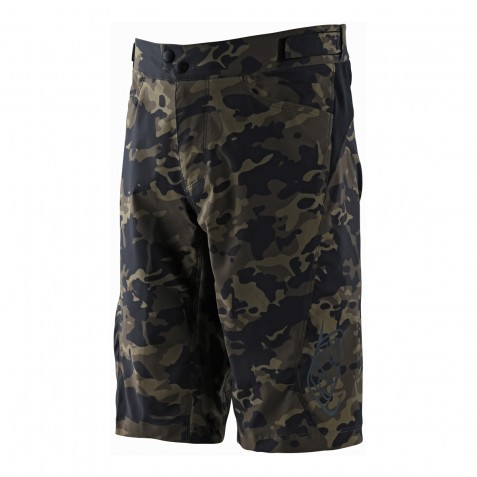 SHORT FLOWLINE CAMO GREEN AVEC S/SHORT