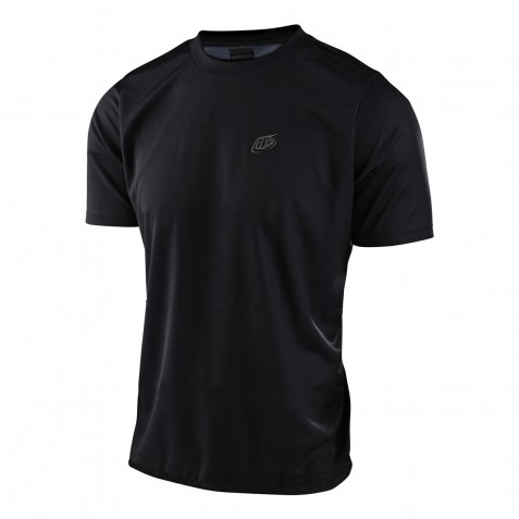 MAILLOT FLOWLINE SS SOLID BLACK