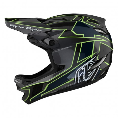 CASQUE D4 CARBON MIPS GRAPH GRAY/GREEN