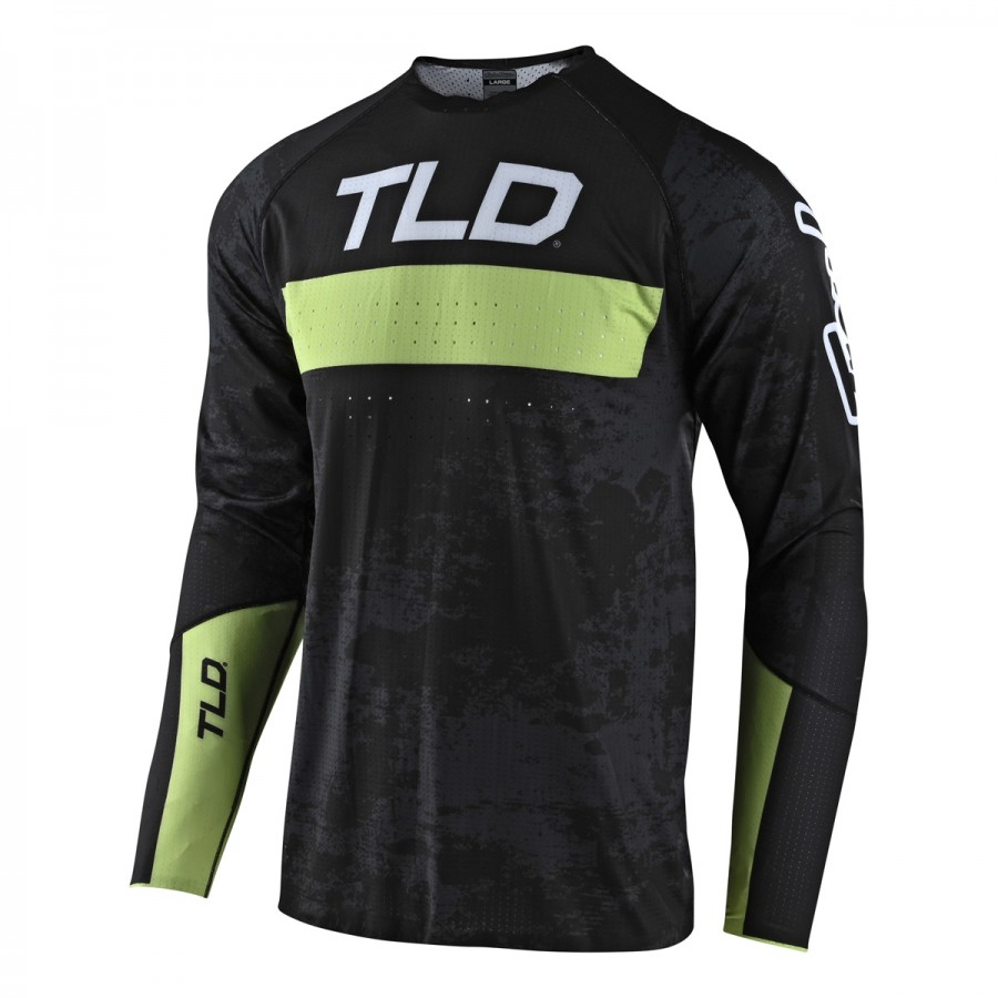 MAILLOT SPRINT ULTRA GRIME BLACK/GLO GREEN