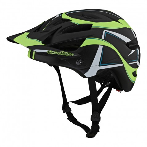 CASQUE A1 MIPS WELTER BLACK/GREEN YOUTH