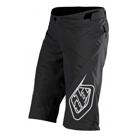 SHORT SPRINT SOLID BLACK YOUTH