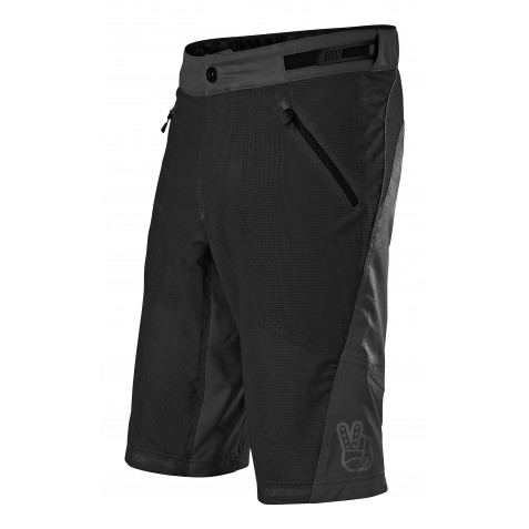 SHORT SKYLINE AIR SOLID BLACK AVEC S/SHORT