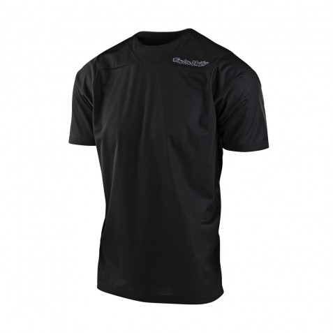 MAILLOT SKYLINE SS SOLID BLACK