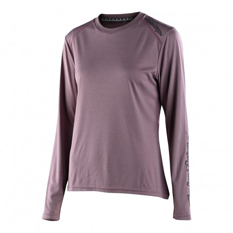 MAILLOT LILIUM LS SOLID HEATHER GINGER WOMENS