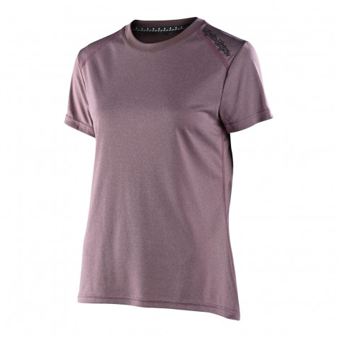 MAILLOT LILIUM SS SOLID HEATHER GINGER WOMENS