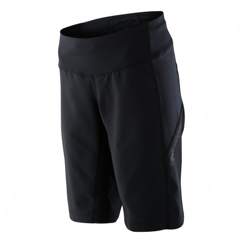 SHORT LUXE SOLID BLACK WOMENS