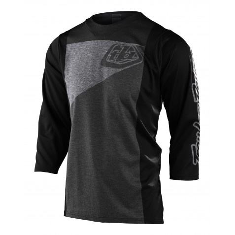MAILLOT RUCKUS 3/4 TRES HEATHER GRAY/CHARCOAL