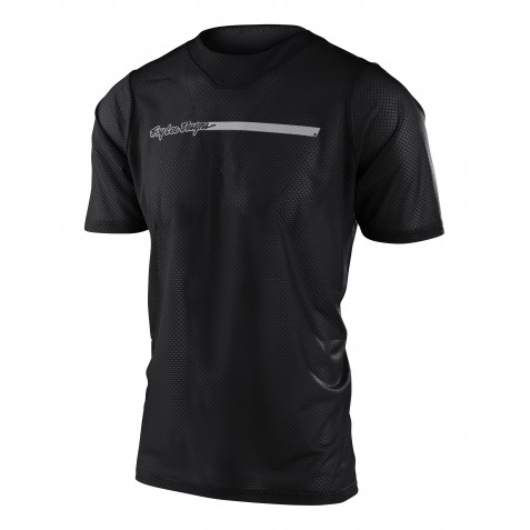 MAILLOT SKYLINE AIR SS CHANNEL BLACK