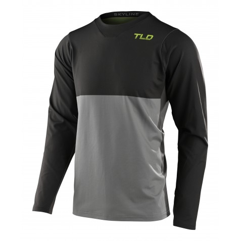 MAILLOT SKYLINE LS CHILL BREAKS CARBON