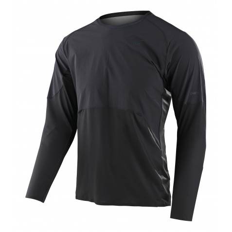 MAILLOT DRIFT LS SOLID CARBON