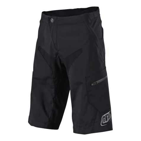 SHORT MOTO SOLID BLACK