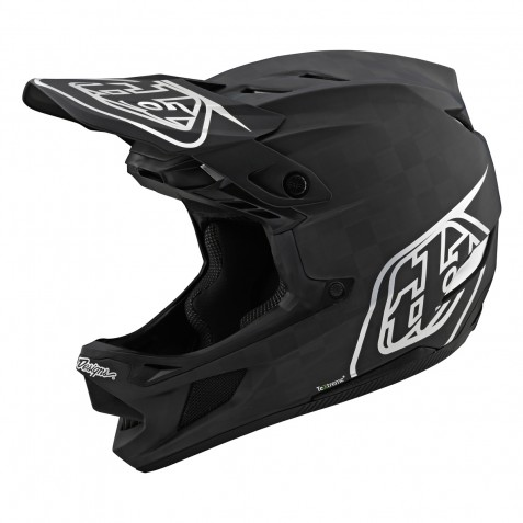 CASQUE D4 CARBON MIPS STEALTH BLACK/SILVER