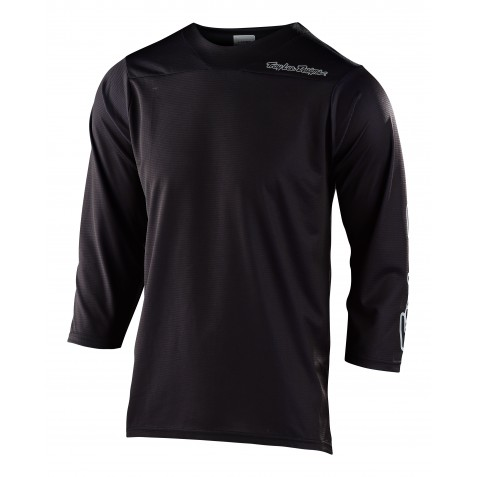 MAILLOT RUCKUS 3/4 SOLID BLACK