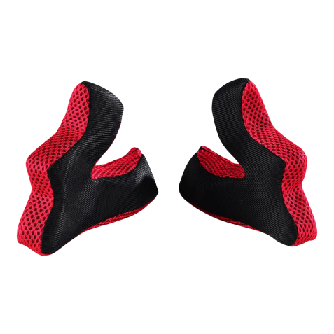 MOUSSE CASQUE D3 - CHEEKPAD RED